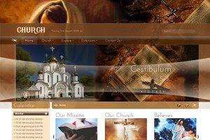 SJ Church -Religious Joomla template