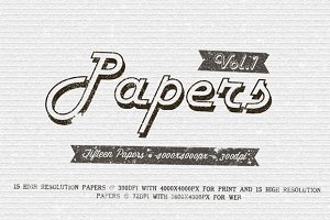 Papers Pack Vol.1