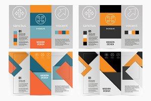 Flyer material design