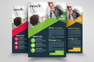 Business Corporate Strategy Flyer