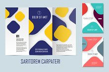 Flyer material design Vol.3