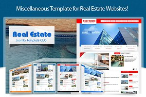 SJ Real Estate - Business template