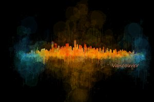 Vancouver Cityscape skyline