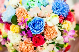 Bouquet of flower decor