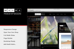 Magma-Responsive WordPress Magazine