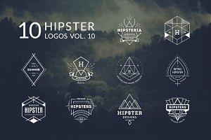10 Hipster Logos Vol. 11
