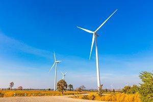 Electric wind turbine generator