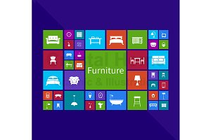 Furniture application window icon 1