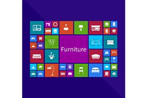Furniture application window icon 2