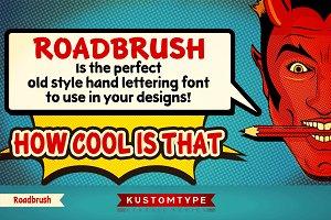 Roadbrush Hand Lettering