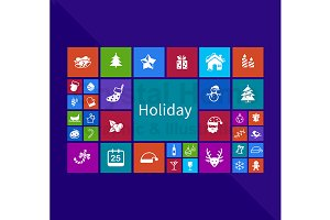 Holiday application window icon