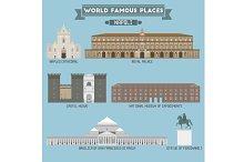 World Famous Place. Italy. Napoli