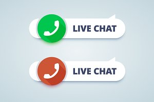 Live Chat Buttons