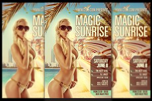 Magic Sunrise Flyer