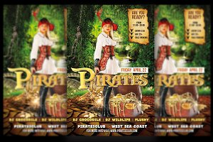 Pirates Party Flyer