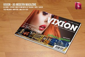 A5 Modern Magazine