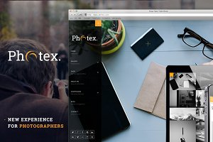 Photex - Responsive Portfolio Theme