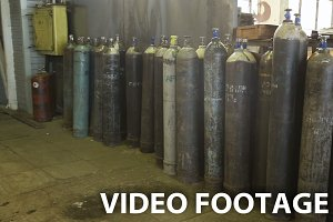 gas steel storage tanks
