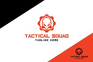 Tactical Squad Logo Template