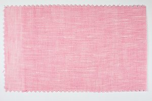 Pink fabric sample