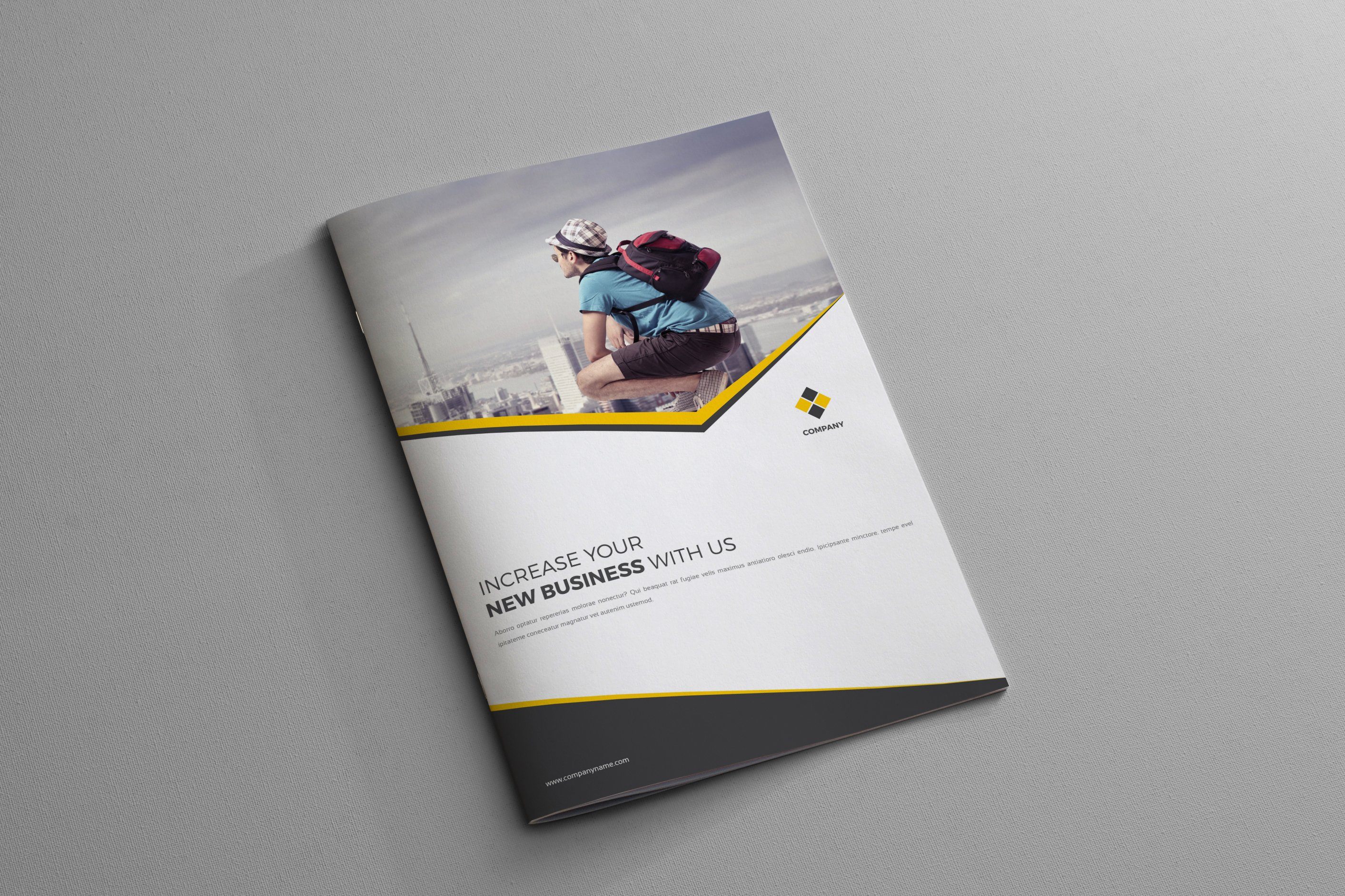 corporate business brochure 4 page brochure templates creative