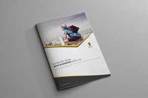 Corporate Business Brochure - 4 Page