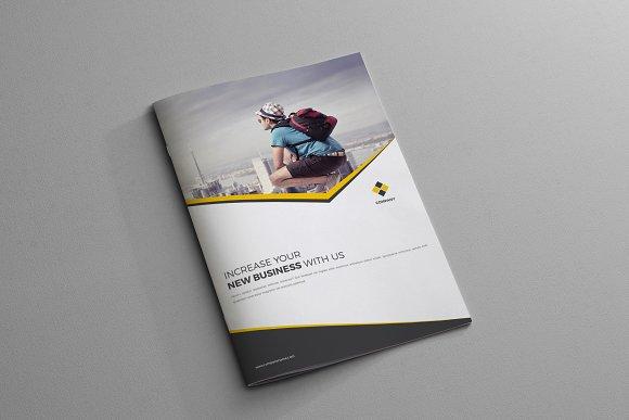 corporate business brochure 4 page brochure templates creative
