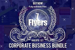7 Business Corporate Flyer Bundle