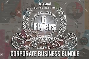 6 Business Corporate Flyer Bundle