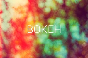 Bokeh background 106