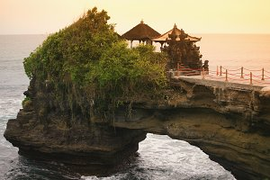 Temple in Bali,Indonesia