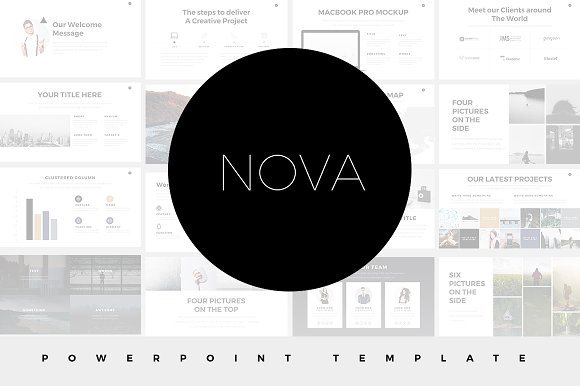 Minimal powerpoint templates bundle presentation templates minimal powerpoint templates bundle presentation templates creative market toneelgroepblik Image collections