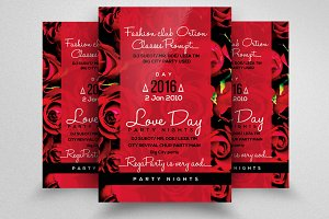 Valentines Day & Wedding Flyer
