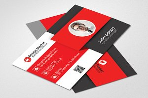Vectored Business Card Template