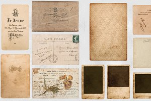 PNG Vintage old Papers transparent