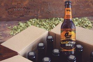 Beer Box Mockup