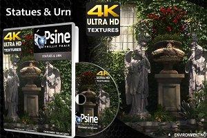 Statues & Urn