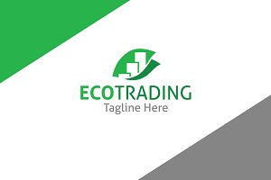 EcoTrading Logo Template