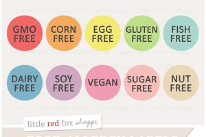 Food Label Clipart