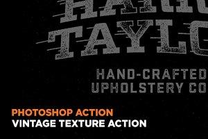 Vintage Texture Action