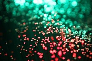 A fiber optic bundle