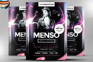 Menso Flyer Template