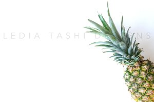 Styled Stock Photography | Pineapple