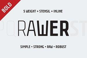 Rawer CondensedBold