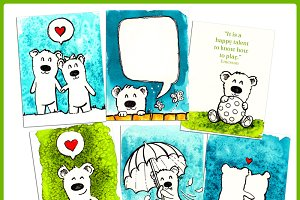 Journaling Cards :: Little Bears