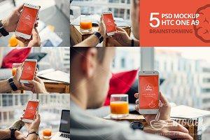 5 PSD Mockup HTC Brainstorming