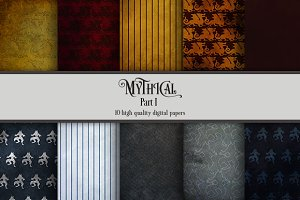 Mythical Part 1 (10 digital papers)