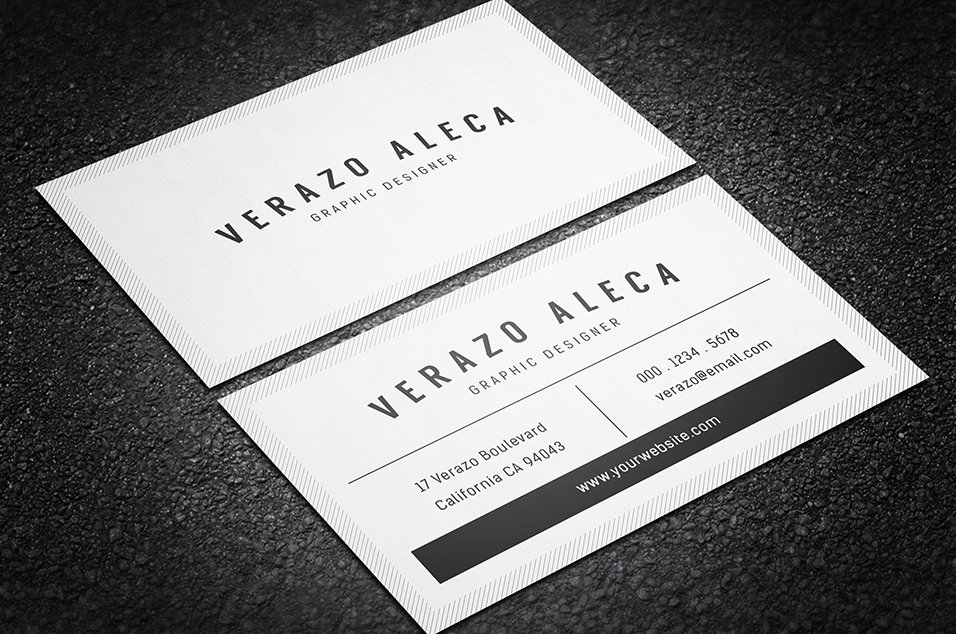 Clean minimal business card template business card templates clean minimal business card template business card templates creative market colourmoves Images