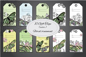 10 Floral with Butterfly Gift Card