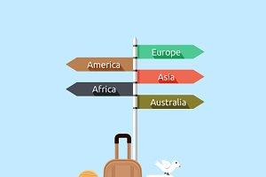 Travel Asia America, Europe